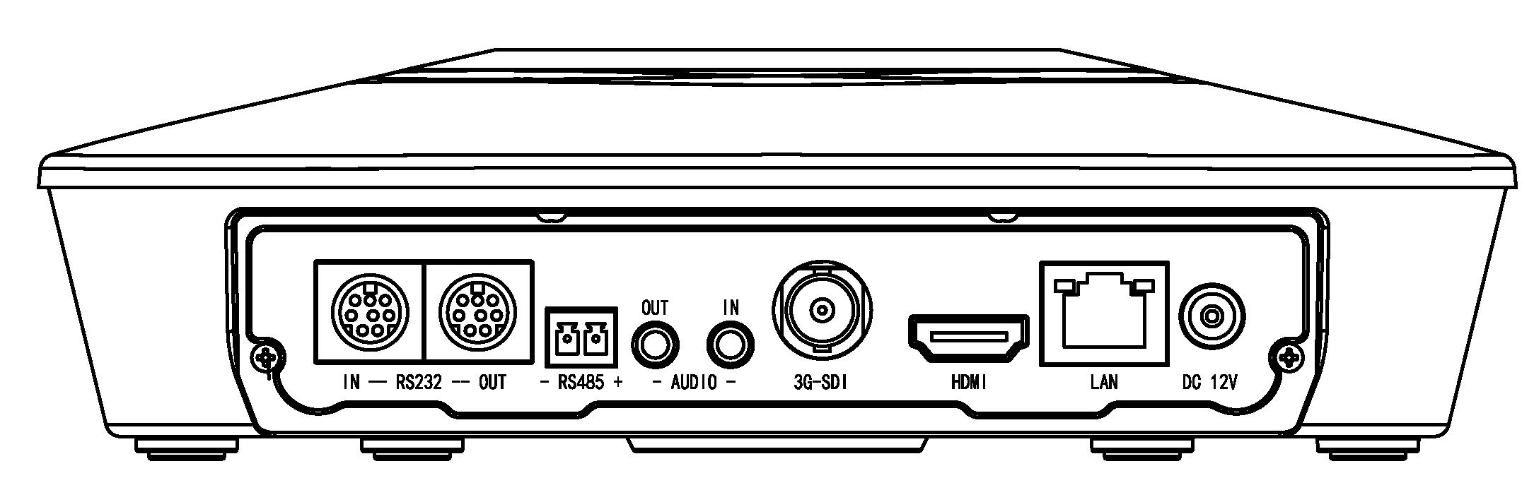 RJ-HD322接口图片